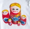 Homemade Russian doll babygrow | Wolves in London