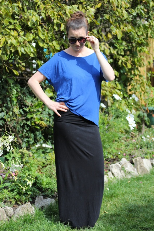 Home sewn maxi skirt | Wolves in London