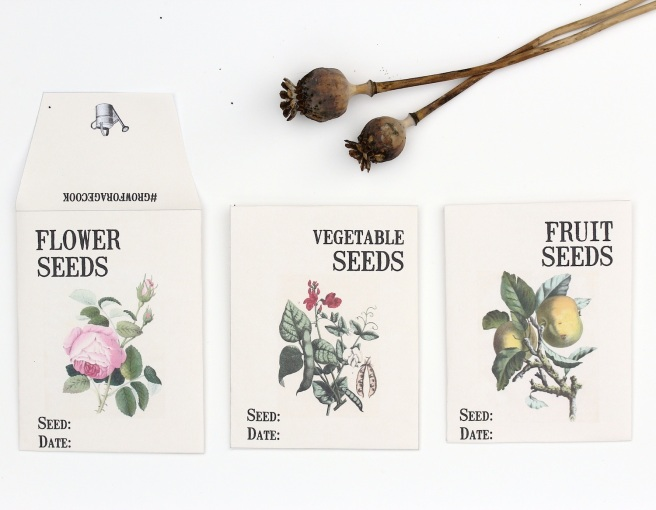 Free seed packet download | Wolves in London