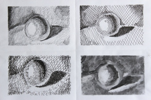 Shading spheres