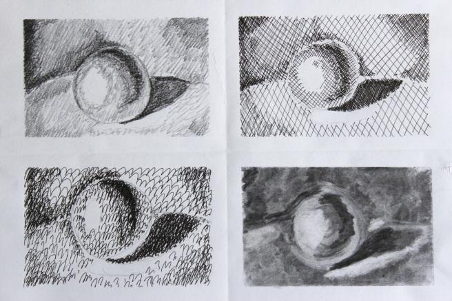 Shading spheres