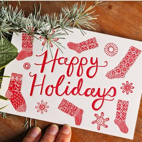 Christmas card by Artcadia