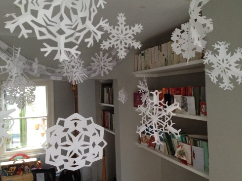 Paper snowflakes | Wolves in London
