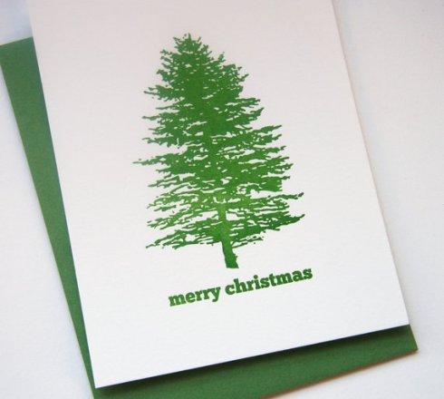 Christmas card by SteelPetalPress