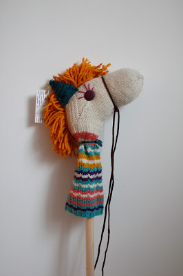 Hobbyhorse made of a sock | Wolves in London