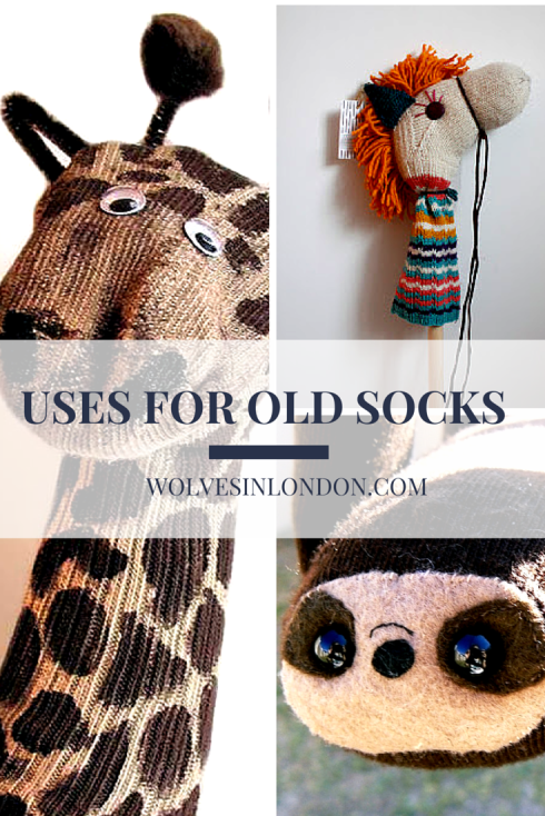 7 great uses for old socks: a round-up of some of the best recycling ideas for socks from Wolves in London