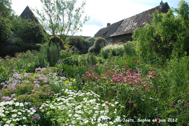 French country cottage garden