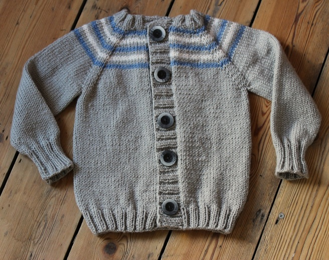 Wonder years handknit cardigan