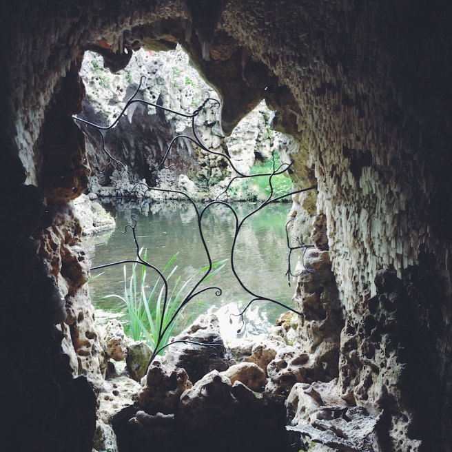 Crystal grotto at Painshill Park