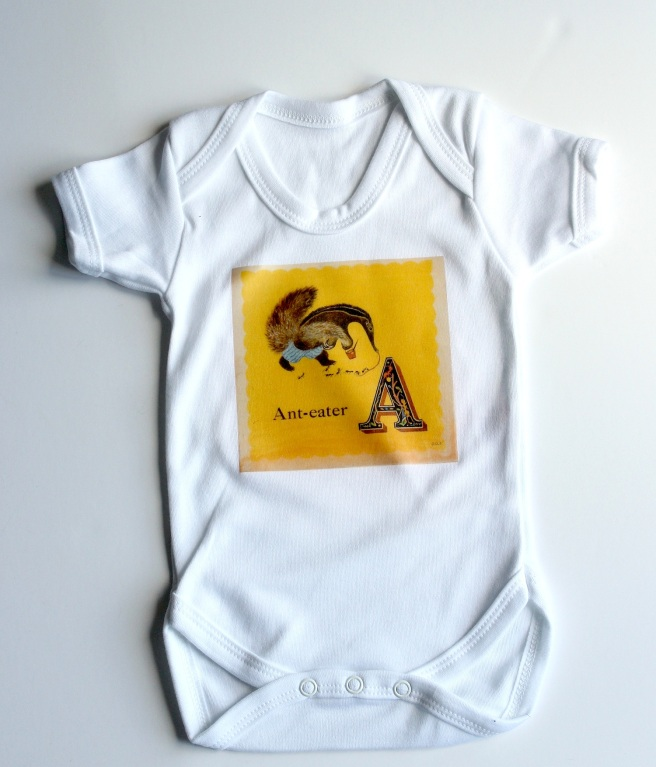 Anteater babygrow homemade | Wolves in London