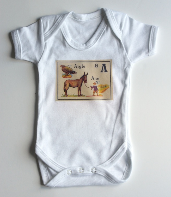 A is for... babygrow | Wolves in London