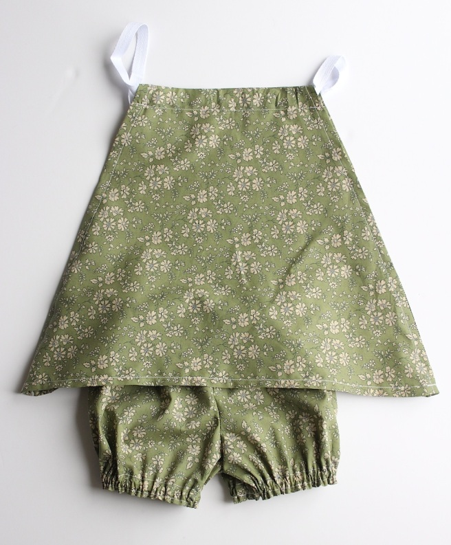 Homesewn Liberty baby dress and bloomers | Wolves in London