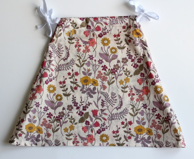 Liberty print Purl Bee tiny triangle dress | Wolves in London