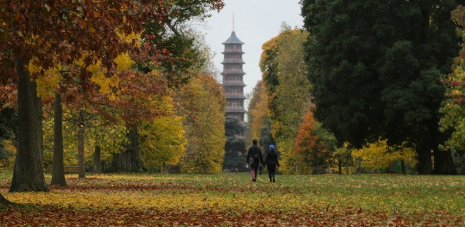 Kew in the Autumn