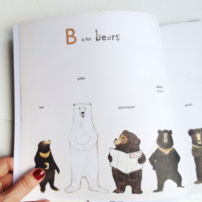 B for bears by Katie Viggers