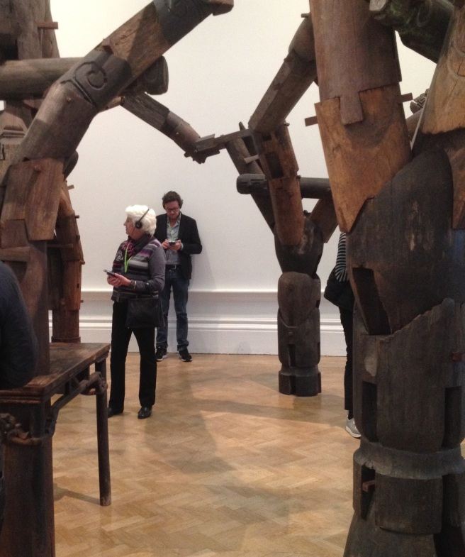 Fragments by Ai Weiwei at the RA, London