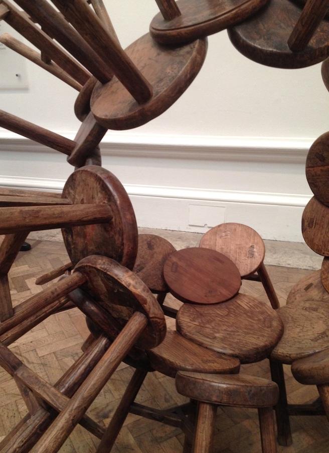 Stools at Ai Weiwei