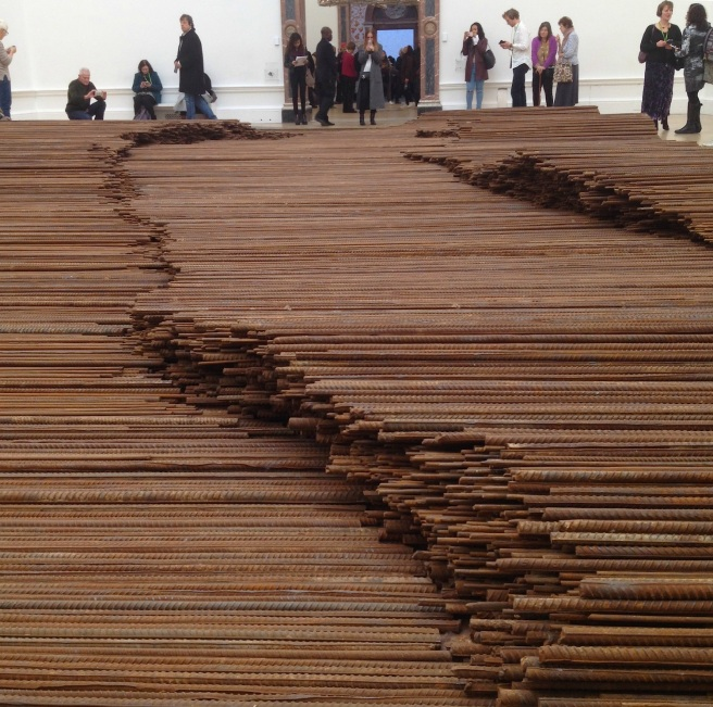 Straight by Ai Weiwei at the RA, London