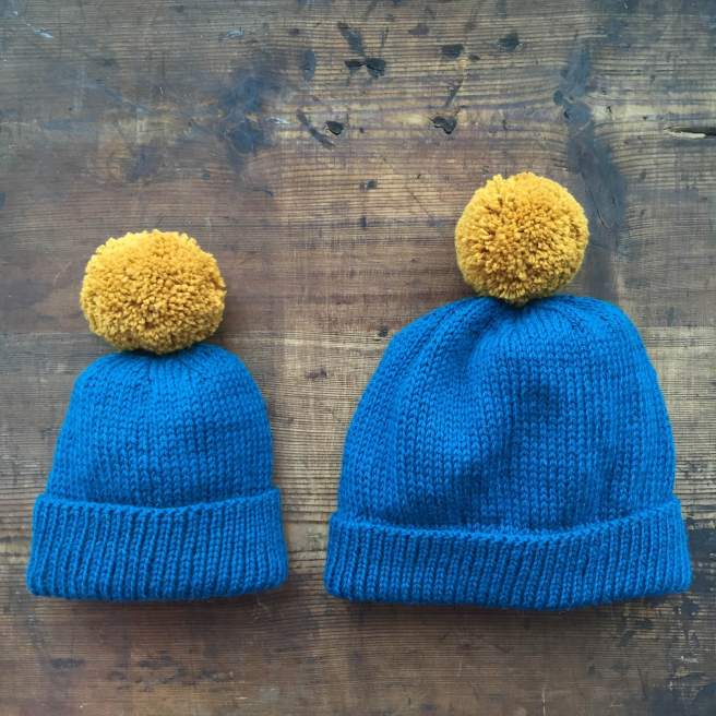 Homeknitted bobble hats | Wolves in London