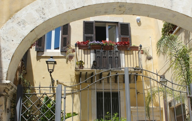Balcony in Siracusa