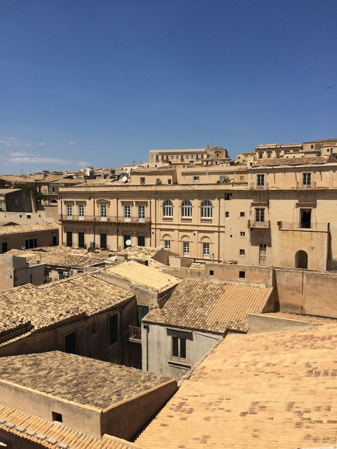 Noto rooftops, Sicily