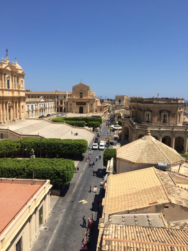Noto street, Sicily