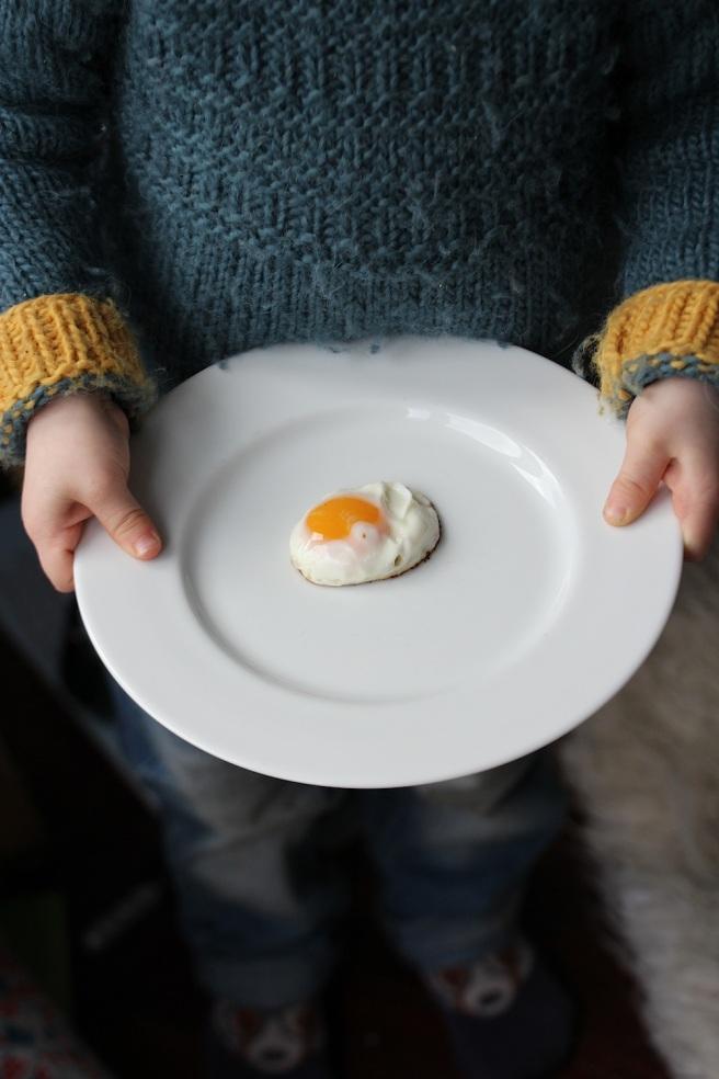 Pekin bantam egg
