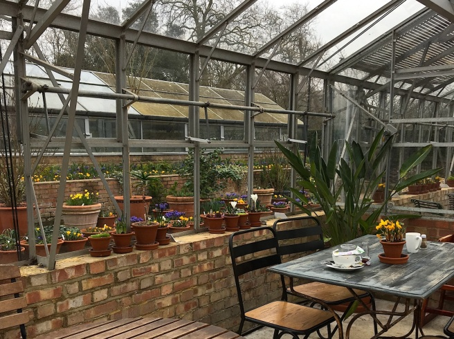 Eltham Palace cafe