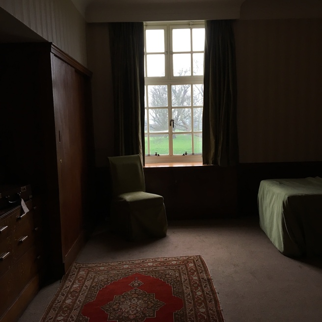 Eltham Palace bedroom