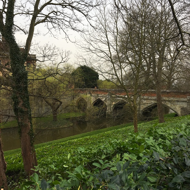 Eltham Palace moat and bridge